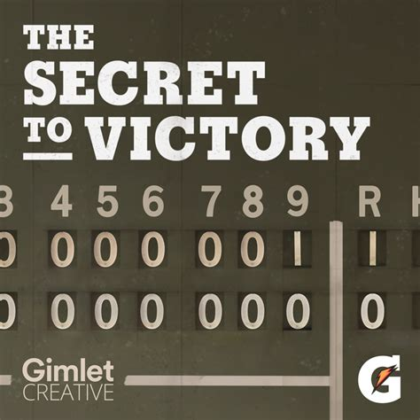 secret by we the gimlet creative the secret to victory gimlet creative