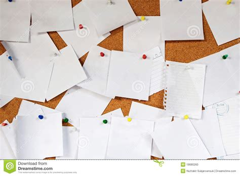 How Many Times Can A Of Paper Be Folded - many white note paper stock photo image 18680260