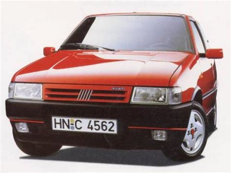fiat uno turbo mk ii laptimes specs performance data