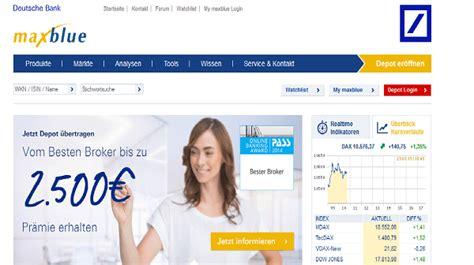 deutsche bank banking und brokerage login deutsche bank onlinebanking und brokerage deutsche bank