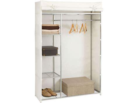 armoire en tissu conforama housse pour penderie coloris blanc wardy coloris blanc