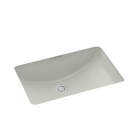 grey kitchen sink shop kohler ladena ice grey undermount rectangular