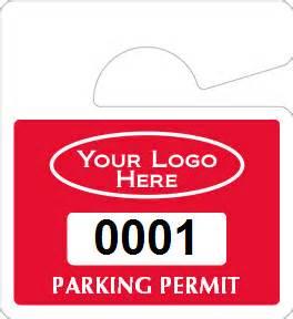 all mini hanging parking permits