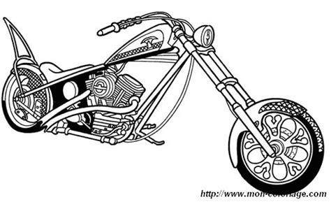 Coloriage De Motos Dessin Moto 06 224 Colorier