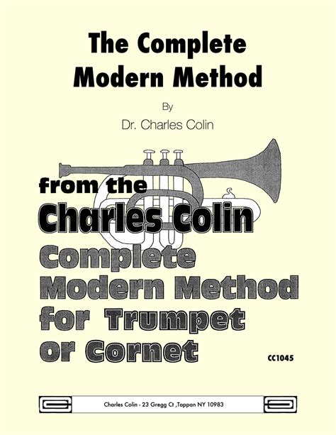 methods of modern homebrewing the comprehensive guide to contemporary craft brewing books colin s complete modern method for trumpet by colin