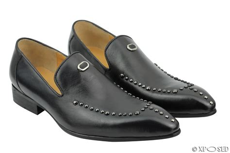 Studed Loafer Shoes mens studded loafers 28 images rossellini mens suede