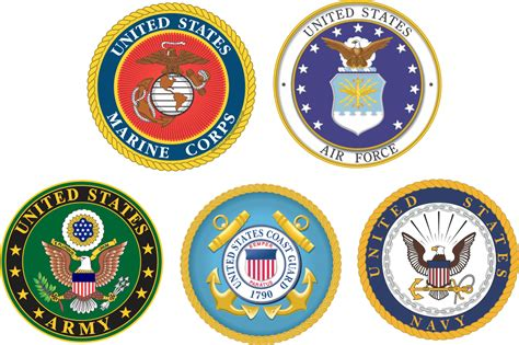 Military Branch Logos | branches of the military clipart 65