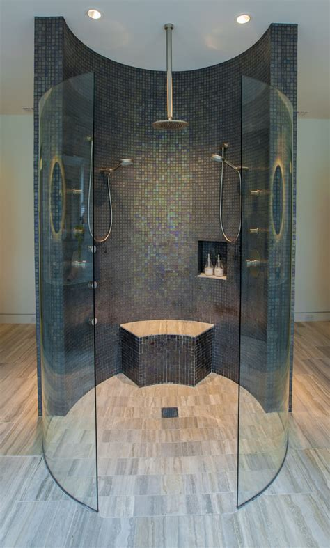 Contemporary Bathroom Designs For Small Spaces by 50 Awesome Walk In Shower Design Ideas Top Home Designs