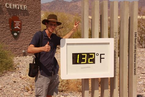 Valley Temperature Record My Personal Experience Of Record Breaking Heat In Valley Dave S Travel