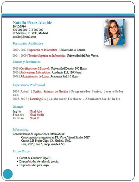 Plantilla De Curriculum En Ingles Ejemplos Y Plantillas De Curriculum En Ingl 233 S Trabajar En Inglaterra Cvexpres Page 3
