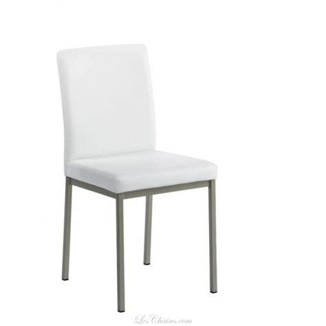 Good Chaise Salle A Manger Noir Et Blanc  #5: Chaise-imitation-cuir-pour-cuisine-villa.jpg