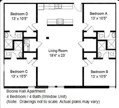 4 bedroom open floor plans bedroom efficiency bedroom furniture high resolution