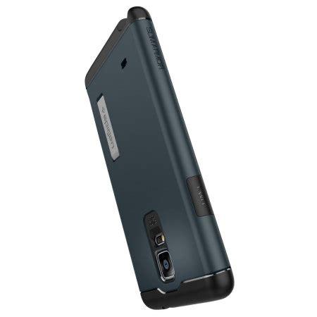 Spigen Slim Armor Samsung Galaxy Note 4 Hardcase 1 spigen slim armor samsung galaxy note 4 tough metal slate reviews mobilezap australia
