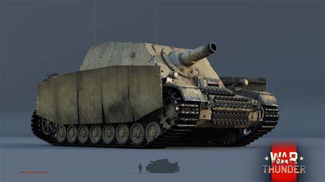war thunder 1 57 upcoming content tiger ii war thunder sturmpanzer iv brummb 228 r novinky excalibur cz