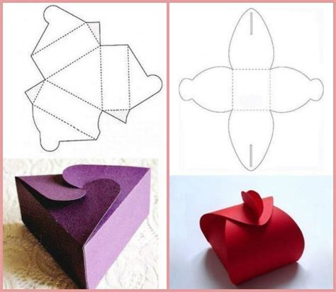 How To Make A Box From A Of Paper - how to make a small gift box littlepieceofme