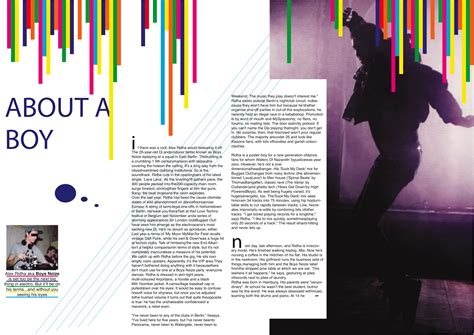 article page layout design magazine layout damiensdisplay