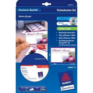 Cd Etiketten Drucken Software Kostenlos by Zweckform Visitenkarten Software Zweckform Visitenkarten