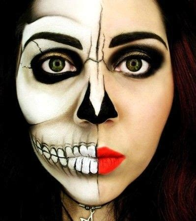imagenes de halloween para pintarte la cara maquillaje google and zombies on pinterest