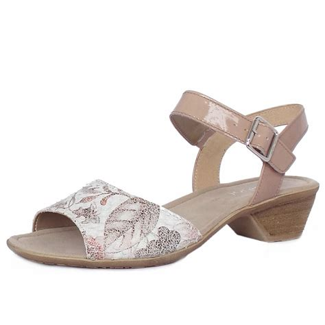 dressy low heel sandals gabor picasso s modern dressy low heel sandals in