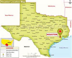 where is houston located in usa