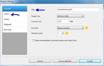 cara format dvd yang di protec pada kolom title silahkan masukkan judul film video