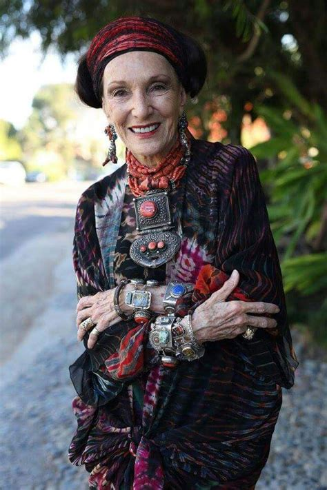 boho style for older women what i aspire to be an older woman with her own style