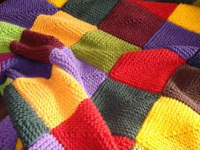 Hand knitted blanket multicolor baby children by columbinecrochet