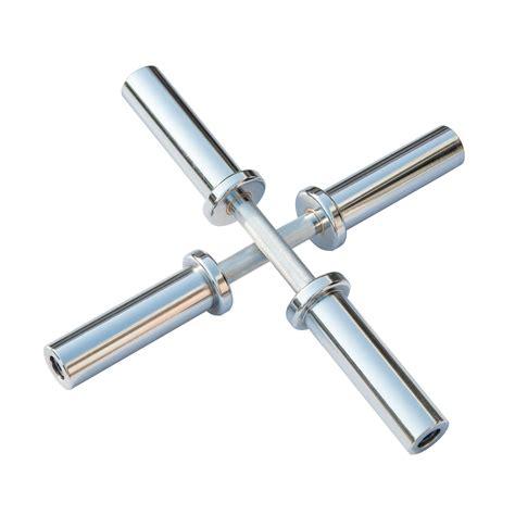 Bar Dumbbell dkn olympic chrome dumbbell bars pair