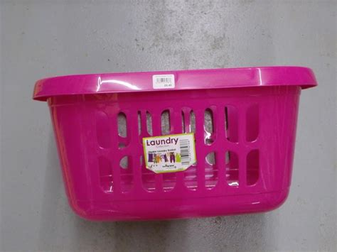 Plastic Pink Laundry Her Sierra Laundry Yellow And Pink Laundry