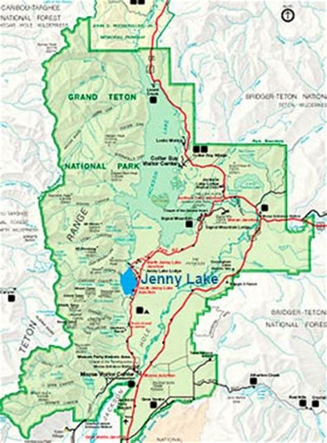 grand teton national park map photo hikes in the grand tetons lake trail network
