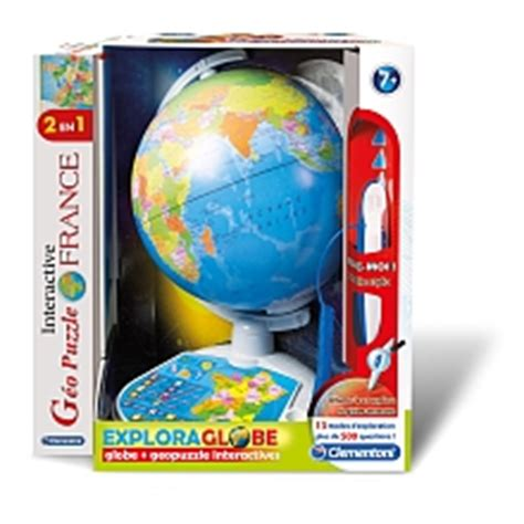 Asmodee Globe Bebe by Explora Globe Carte Int 233 Ractive Seulement Chez Toysrus Clementoni