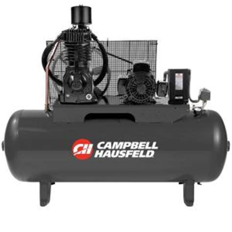 cbell hausfeld 80 gal 3 phase electric air compressor