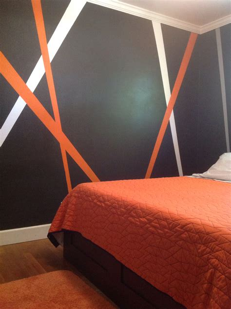 love orange and grey was talking to reese about teen boy bedroom in orange gray black paint colorsroom and