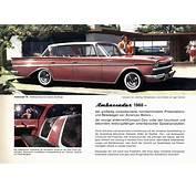 Car Brochures  1960 Rambler Swiss / 3JPG