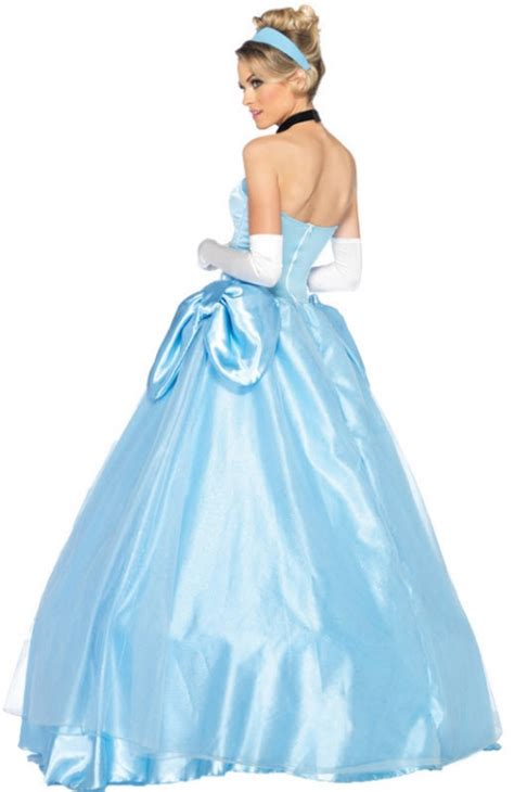 Dress Kostum Princess Disney Premium Size 8 12y s cinderella costume costumes