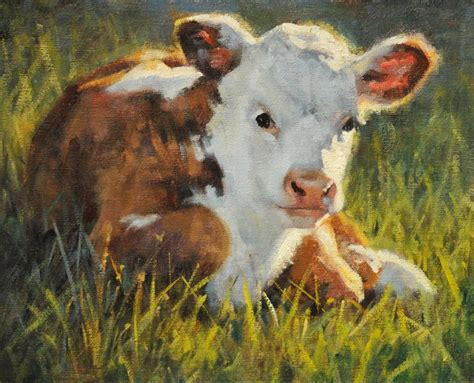 A Dynamic Animal Portrait Oil Painting Demo By Phil Beck Animal Painting For