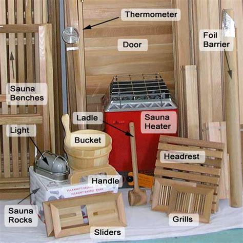 home sauna kit diy precut sauna heater package
