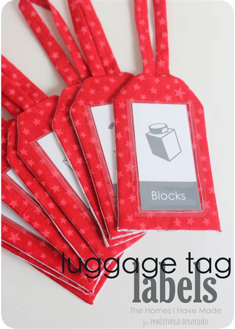 simple printable luggage tags luggage tag labels positively splendid crafts sewing