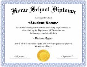 High School Diploma Template Free by Homeschool Diploma Template