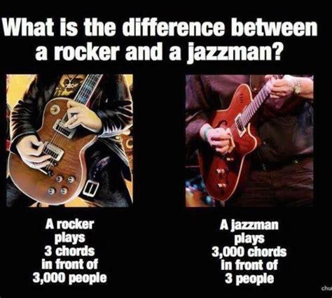 Musician Memes - jazz vs rock metal heavy metal and rock n roll