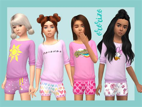 sims 4 children cc ororizo s pyjamas child part 1 kids room needed