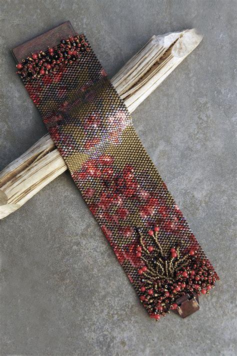 beaded peyote bracelet pattern 366 best peyote stitch beading patterns images on