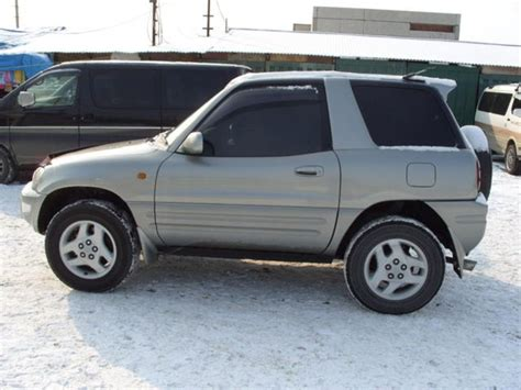 1998 Toyota Rav4 Soft Top For Sale 1998 Toyota Rav4 Pictures 2000cc Gasoline Manual For Sale