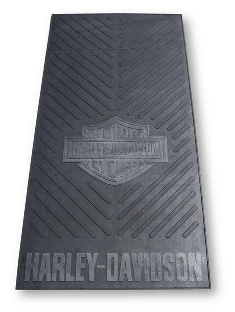 Harley Davidson Garage Floor Mats by Harley Davidson Garage Floor Utility Mat Size For