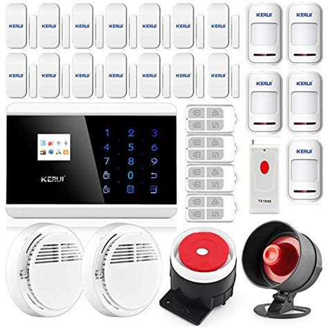 kerui wireless touch keypad gsm home security burglar