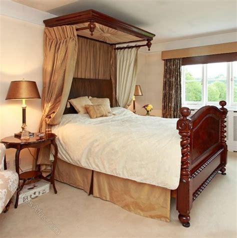 half tester bed victorian 5ft mahogany half tester bed drapes antiques atlas