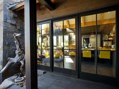 industrial sliding glass doors photos hgtv