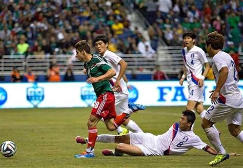 mexico 4 0 south korea match report 1 29 14 friendlies