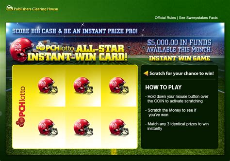 Pch Instant Win Scratch Card - how would 1 million a year quot forever quot change your life pch blog