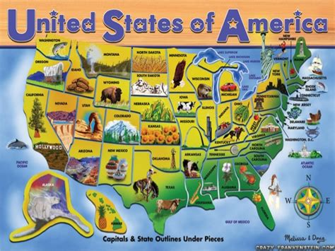 map of the united states landmarks famous landmarks in the united states of america
